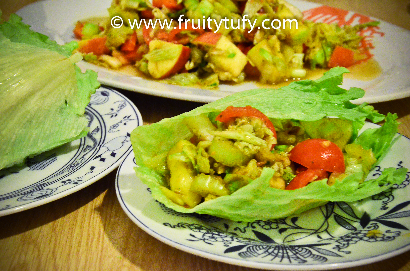 Healthy Vegetarian Lettuce Wraps - Healthy Living and Fitness
